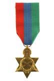 Medaglia del Greco della seconda guerra mondiale Fotografie Stock