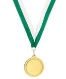 Medaglia del metallo di Copyspace Fotografia Stock Libera da Diritti