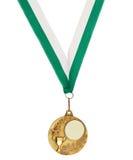 Medaglia del metallo di Copyspace Immagini Stock