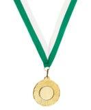 Medaglia del metallo di Copyspace Fotografia Stock
