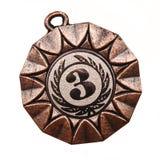 Medaglia di bronzo Immagine Stock