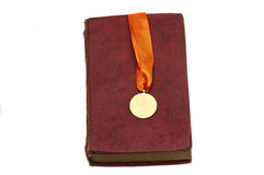 Medaglia di oro Fotografie Stock