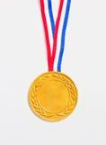 Medaglia dorata. Immagine Stock
