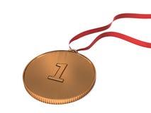 Medaglia olimpica Fotografia Stock