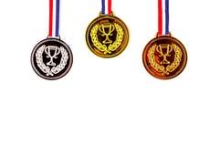 medaglie Fotografie Stock