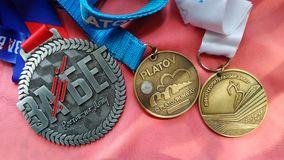 medaglie Fotografia Stock Libera da Diritti