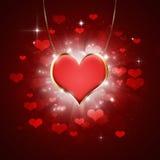Medaglione del cuore Fotografie Stock Libere da Diritti