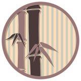 Medaglione giapponese 4 Immagine Stock