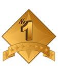 Medaille stock illustratie