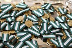 medaille Lizenzfreie Stockfotos