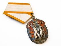 Medaille de USSR stock foto's