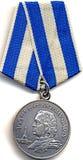 Medaille ` 300 jaar van Russische vloot ` royalty-vrije stock foto