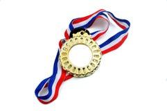 Medaille mit Band Stockbilder