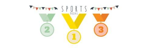 Medaille (Sporten) Royalty-vrije Stock Fotografie
