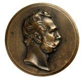 Medaille von Alexander II stockfotos