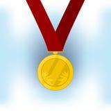 Medaillekampioen Vector Illustratie