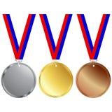 Medaillen Lizenzfreies Stockfoto