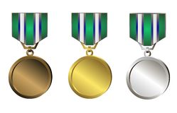 Medaillen Vektor Abbildung