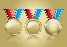 Medaillen 02 Lizenzfreie Stockbilder