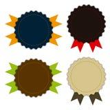 Medaillengewebeweinlese, -förderungen oder -qualitäten Lizenzfreies Stockfoto