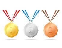 medailles Royalty-vrije Stock Afbeeldingen