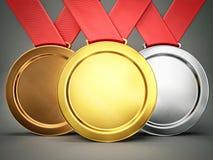 medailles Stock Foto