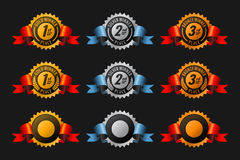 Medailles Stock Afbeeldingen