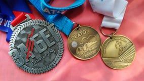 medailles Royalty-vrije Stock Foto