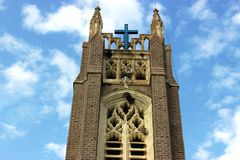 Medak church Royalty Free Stock Photography