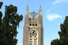 Medak church Stock Photo