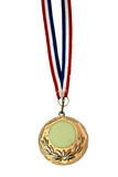 Medal. Sports medal on white background Stock Images