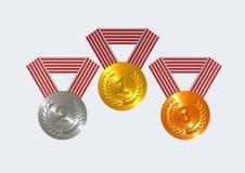 Medal Royalty Free Stock Photos