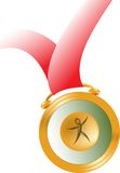 Medal. Finest isolated illustrated image of medal vector illustration