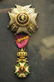 Medal awarded to british general Stock Photography