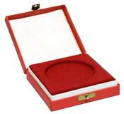 Medal box Royalty Free Stock Image