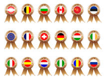 Medal bronze Royalty Free Stock Photography