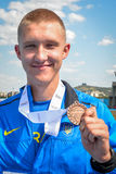 Medal ceremony Stock Photography
