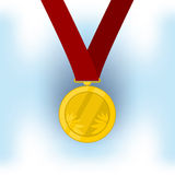 Medal champion. Champion medal for the winner. vector format Royalty Free Stock Photos