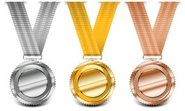 Medal collection stock illustration
