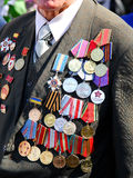 Medal for a courage Stock Photography