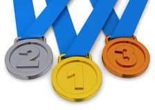 Medal - 3D Royalty Free Stock Images