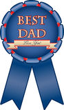 A medal for dad Stock Photos