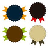 Medal fabric vintage, promotions or qualities Royalty Free Stock Photo