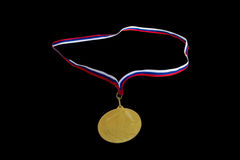 The medal for first place Royalty Free Stock Photography