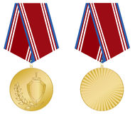 Medal gold Royalty Free Stock Photos