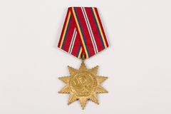 Medal of honor. For great achievements Royalty Free Stock Images