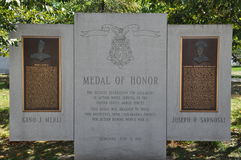 Medal of Honor Memorial, Scranton, Pennsylvania Royalty Free Stock Photos