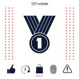 Medal Icon symbol. Medal Icon . Signs and symbols - graphic elements for your design stock illustration
