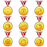 Medal Icon - Sport Royalty Free Stock Images