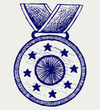 Medal nagroda Obrazy Royalty Free